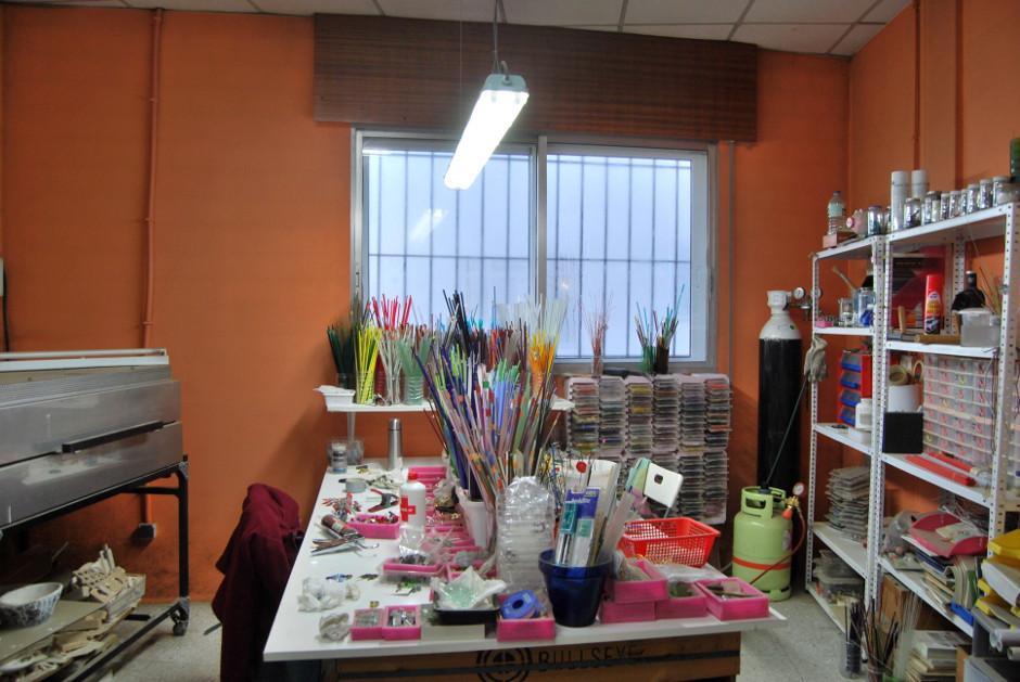 atelier verre Rosa Mendez