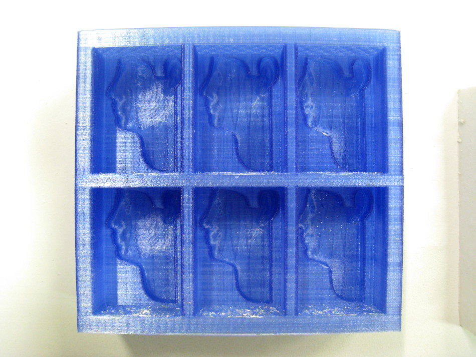 Moule 3D imprimé en plastique