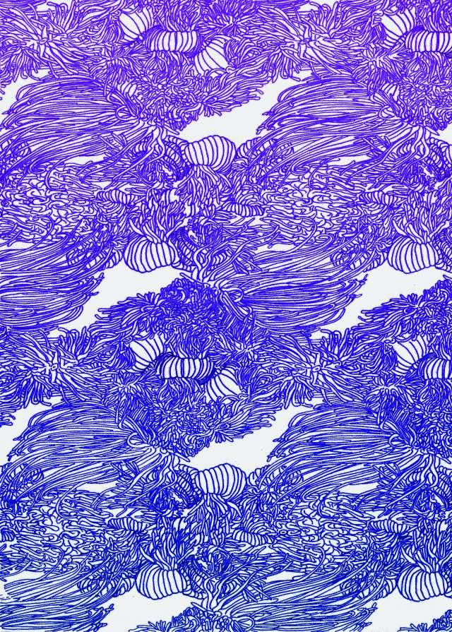 anemones papier peint002mauve eve_PhotoRedukto
