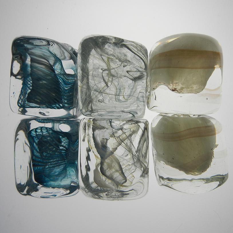 carreau de verre 2 - préparations colorées