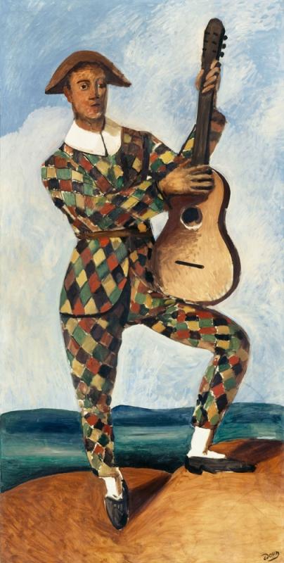 Arlequin à la guitare, André Derain, 1880/1954
